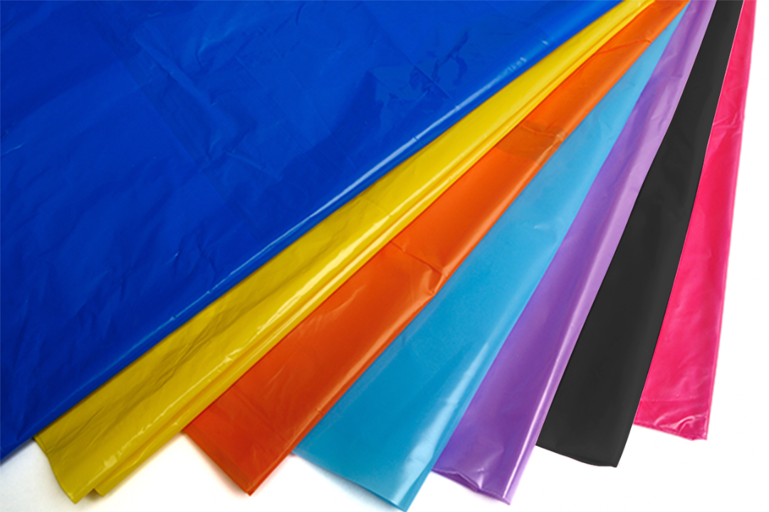 Coloured Polythene Materials